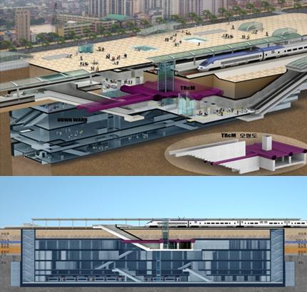 경의선 가좌역 연결통로 건설공사